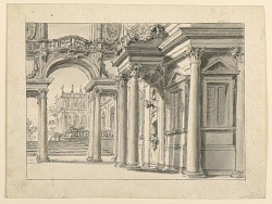 Stage Design: Palace Garden Architecture