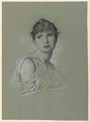 Portrait Sketch of a Young Woman
