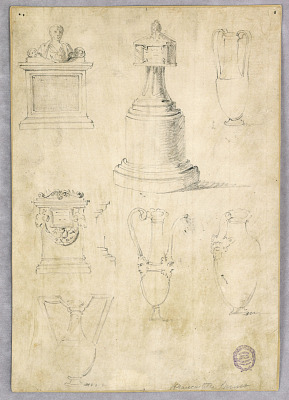 Designs for Vases and Memorials