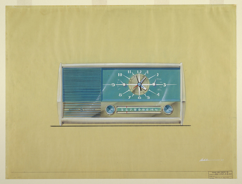 Image for Design for a Clock Radio