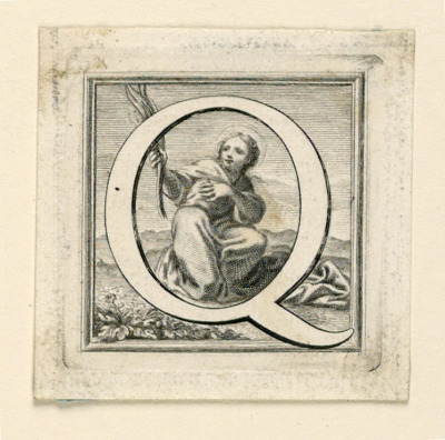 Decorated Capital Letter Q