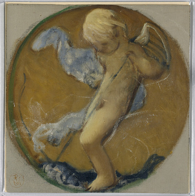 Study for Roundel with Putto
