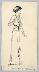 Fashion Design for Ladies' Wear, Drawn from Wanamaker's Garment
