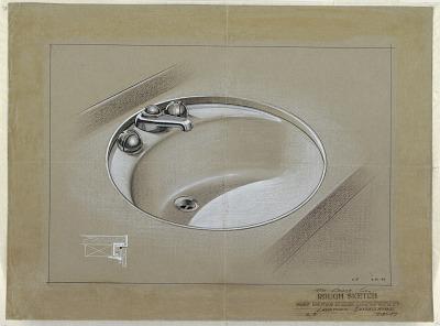Lavatory Installation: Sink for Crane Co.