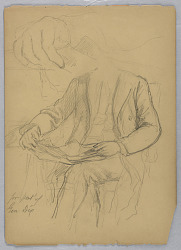 Sketch for Portrait of General John Adams Dix