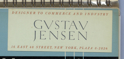 Album: Gustav Jensen Business Card