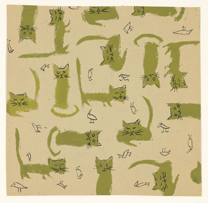 Image for Textile Design: Cats and