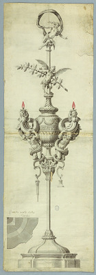An Oil Burning Lamp