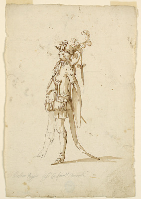 Costume Design: A Page for a Ballet