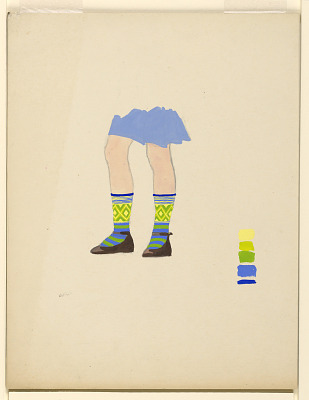Design for Knitted Stockings
