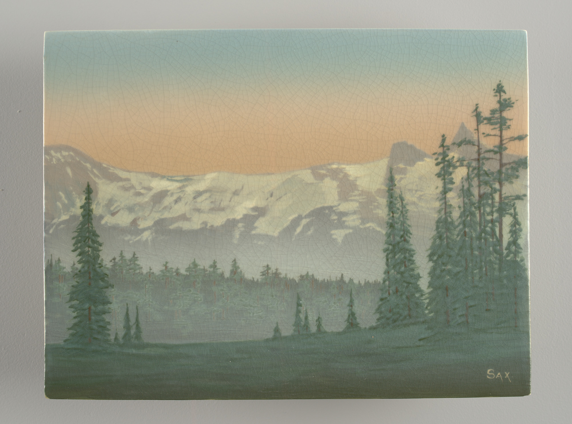 images for Landscape with Snowcapped Mountains