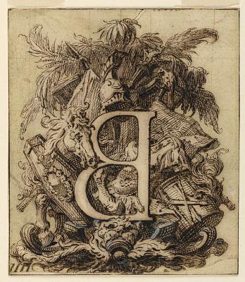Ornamental Design for the Letter B