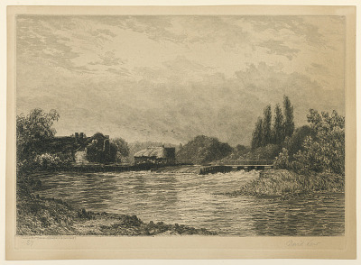 Pangbourne Weir