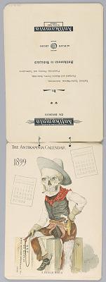 The Antikamnia Calendar, November and December, 1899:
