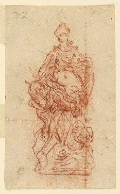 Preparatory Study for the Sculpture of Queen Leszczynska as Juno