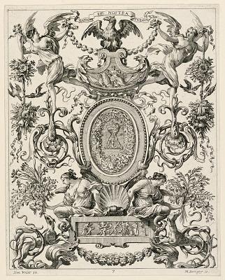 Grotesque Panel, plate 7