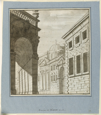 Stage Design: City with a Loggia