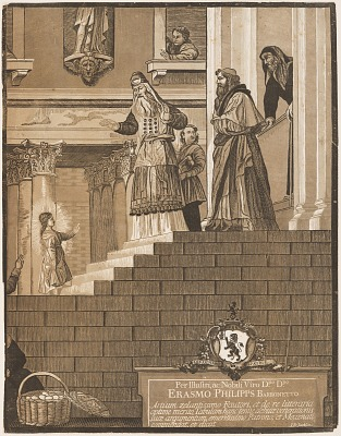 Presentation of the Virgin in the Temple, after Titian (right sheet)
