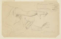 Studies of Hands for Dome of Manufactures and Liberal Arts Building, World's Columbian Exposition, Chicago, IL