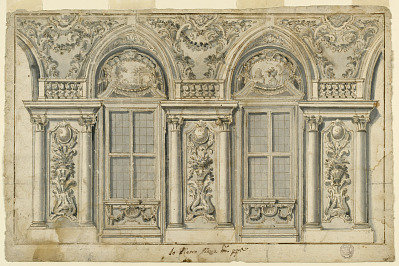 Elevation of a Wall