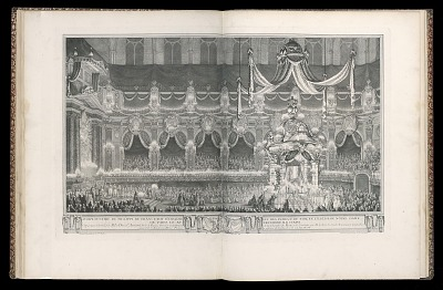 Pompe funèbre de Philipe de France Roy d'Espagne et des Indes, V. du nom, en l'église de Notre Dame de Paris, le XV décembre M.D.CCXLVI (Funeral of Philip V of Spain in the church of Notre Dame, Paris, December 15, 1746)