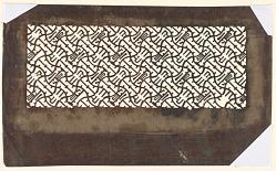 Undulating abstract motif