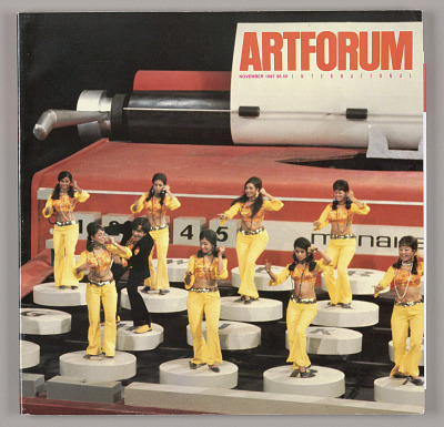 Artforum International Magazine, November 1987