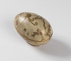 Egg-shaped box