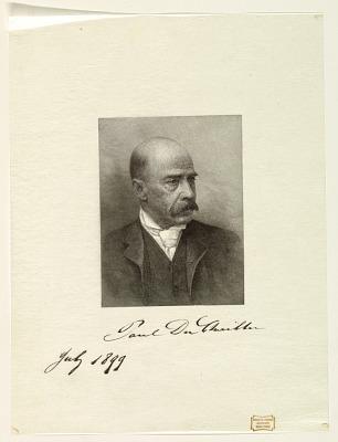 Portrait of Paul Belloni Du Chaillu