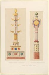 """""""Colonnes d partmentales,fetes Juillet 1838"""""""