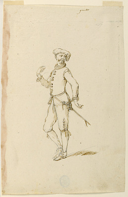 Costume Design: A Captain for a Ballet