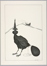 Plate 12, X, Très Admirable Bestiaire Fantastique (Very Admirable Fantastic Bestiary)