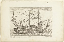 From a Series of Naval Battles for Wedding Festivities of Cosimo Il de'Medici, Jason's Ship