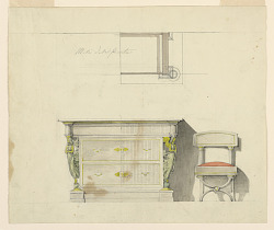 Design for a Dresser and Chair
