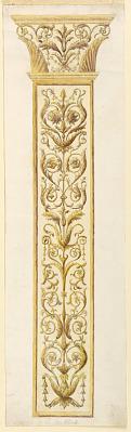 Design for an Ornamental Colonette