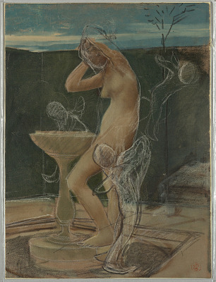 Study of a Woman at Her Bath