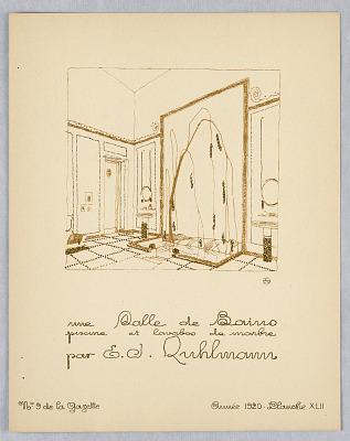 Gazette du Bon Ton, Vol. 2, No. 9, pages de Croquis, Plate 42