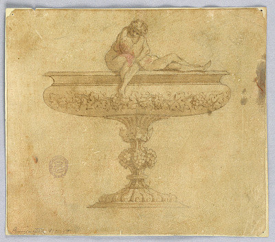 Design for a Bowl with Lovers
