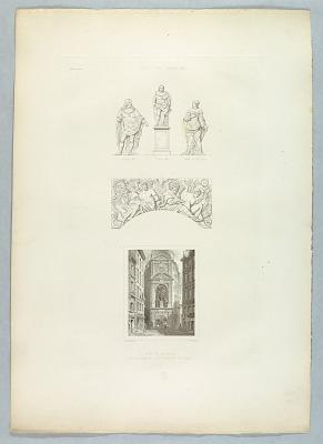 Vue et Details du Monument du Pont du Change
