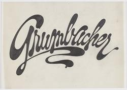 Design for Grumbacher Logo