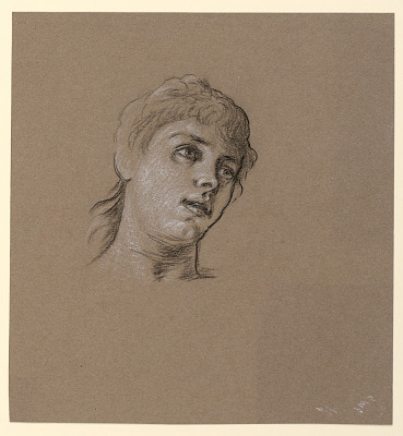 Portrait Sketch of a Young Girl