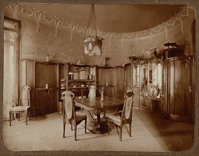 Dining Room, Hôtel Guimard, Rue Mozart, Paris