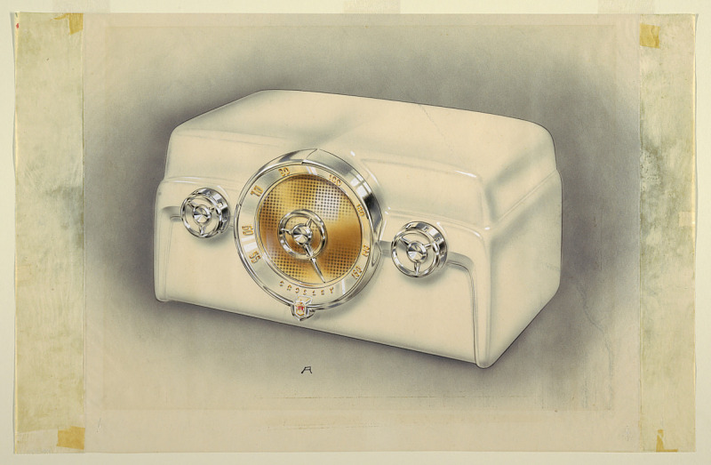 Image for Design for Tube Radio with Center Dial