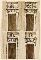 Four projects for a door