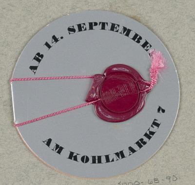 AB14. September / am Kohlmarkt 7, Mieder-Piesen, 14 Sept. 1936