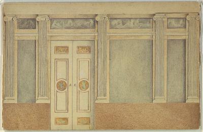 Elevation of Mantelpiece