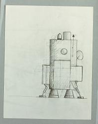 Design for Furniture in Robot Form