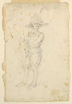 Costume Design: A Satyr for a Ballet