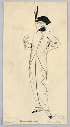 Fashion Design for Ladies' Wear, Drawn from Wanamaker's Suit