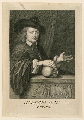 Portrait of Gerard Dow